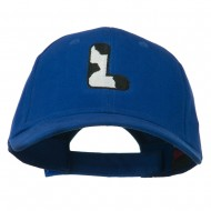 Holstein Alphabet AM Letters Embroidered Youth Brushed Cap - L