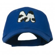 Holstein Alphabet AM Letters Embroidered Youth Brushed Cap - M