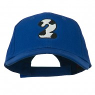 Holstein Number Embroidered Youth Brushed Cap - 2