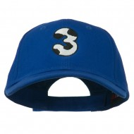 Holstein Number Embroidered Youth Brushed Cap - 3