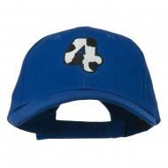 Holstein Number Embroidered Youth Brushed Cap - 4