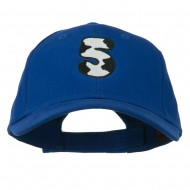 Holstein Number Embroidered Youth Brushed Cap - 5