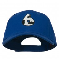 Holstein Number Embroidered Youth Brushed Cap - 6