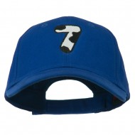 Holstein Number Embroidered Youth Brushed Cap - 7