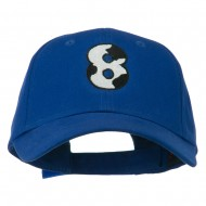 Holstein Number Embroidered Youth Brushed Cap - 8