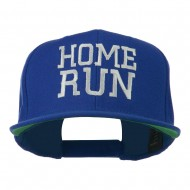 Home Run Embroidered Cap - Royal