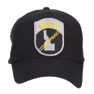 Idaho State Police Patched Cap - Black