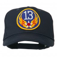 13th Air Force Division Patched Cap - Navy