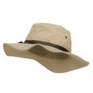 Men's Inner Pocket Bucket Hat - Khaki