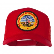 Iowa State Patched Mesh Cap - Red