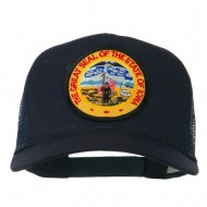 Iowa State Patched Mesh Cap - Navy