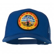 Iowa State Patched Mesh Cap - Royal