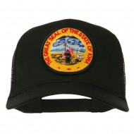 Iowa State Patched Mesh Cap - Black