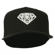 Diamond Jewelry Logo Embroidered Fitted 210 Youth Cap - Black