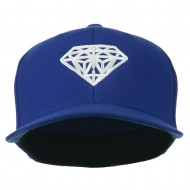 Diamond Jewelry Logo Embroidered Fitted 210 Youth Cap - Royal