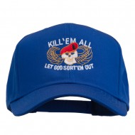 Kill Them All Embroidered Cap - Royal