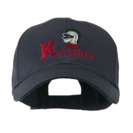 Knights Text and Mascot Embroidered Cap - Navy