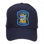 Kansas State Highway Patrol Patched Cap - Navy