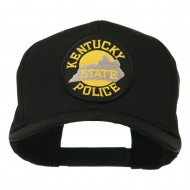 Kentucky State Police Patched High Profile Cap - Black