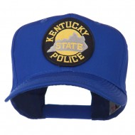 Kentucky State Police Patched High Profile Cap - Royal