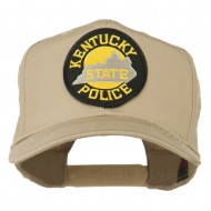 Kentucky State Police Patched High Profile Cap - Khaki
