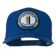 Kentucky State Patched Mesh Cap - Royal