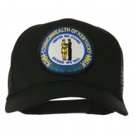 Kentucky State Patched Mesh Cap - Black