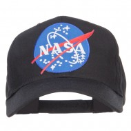 Lunar Landing NASA Patched Cap - Black