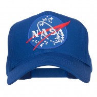 Lunar Landing NASA Patched Cap - Royal