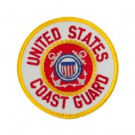 Law Enforcement Embroidered Military Patch - Coast Guard