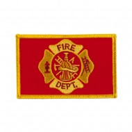 Law Enforcement Embroidered Military Patch - Fire Dept
