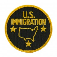 Law Enforcement Embroidered Military Patch - Immigration