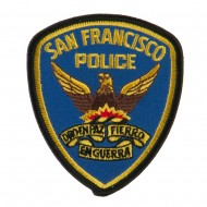 Law Enforcement Embroidered Military Patch - SF Police