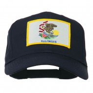 Eastern State Illinois Embroidered Patch Cap - Navy