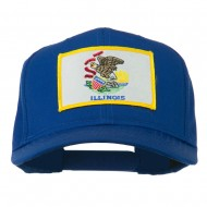 Eastern State Illinois Embroidered Patch Cap - Royal