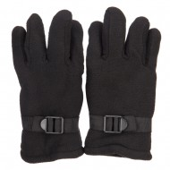 Men's Thick Fleece Glove - Black
