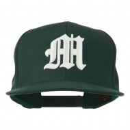 Old English 3D M Embroidered Cap - Spruce
