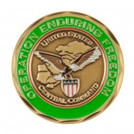 Military Operation Coin - Green Never