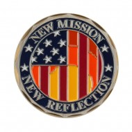 Military Operation Coin - Blue Kuwait