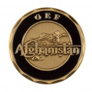Military Operation Coin - Black Afghanistan
