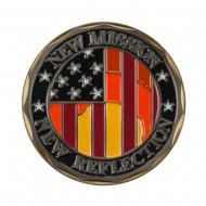 Military Operation Coin - Black US Flag