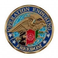 Military Operation Coin - Blue Operation