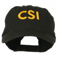 Military Occupation Letter Embroidered Unstructured Cap - CSI