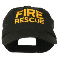 Military Occupation Letter Embroidered Unstructured Cap - Fire Rescue