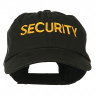 Military Occupation Letter Embroidered Unstructured Cap - Security