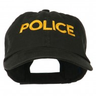 Military Occupation Letter Embroidered Unstructured Cap - Police