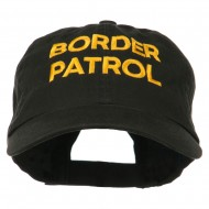 Military Occupation Letter Embroidered Unstructured Cap - Border Patrol