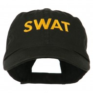 Military Occupation Letter Embroidered Unstructured Cap - SWAT