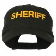 Military Occupation Letter Embroidered Unstructured Cap - Sheriff