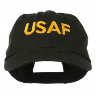 Military Occupation Letter Embroidered Unstructured Cap - USAF
